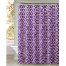 Peva Watercolor Diamond Shower Curtain