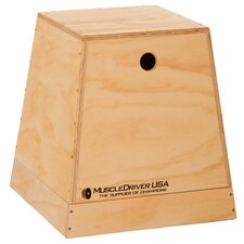 2 in 1 Wooden Plyometric Box