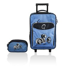 O3 Kids Motorcycle Luggage and Toiletry Bag Set
