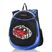 Kids All in One Preschool Racecar Cooler Backpack