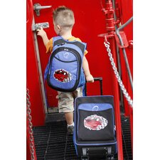 2 Piece Racecar Kids Luggage and Backpack Set