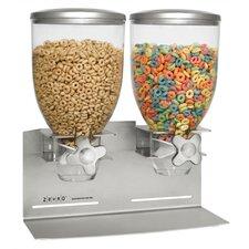 DESIGNER EDITION Double 17.5 oz Dry Food Dispenser