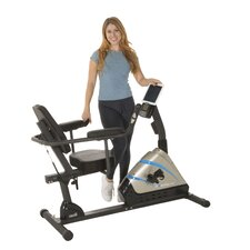 2000 High Capacity Programmable Magnetic Recumbent Bike