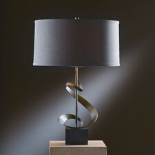 """Gallery 22.9"""" H Table Lamp with Drum Shade"""