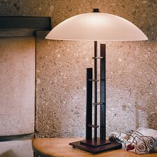 """Metra 18.25"""" H Table Lamp with Bowl Shade"""