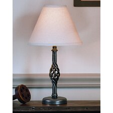 """Twist Basket 16.5"""" H Table Lamp with Empire Shade"""