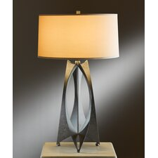 """Moreau 1 Light 25.6"""" H Table Lamp with Drum Shade"""