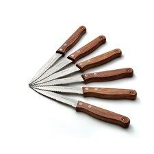 6 Piece Steak Knife Set