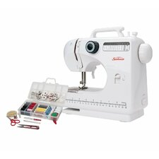 Compact Sewing Machine with Sewing Kit