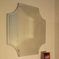 Regency Scallop Frameless Mirror