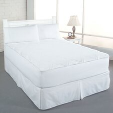 Clean and Fresh Cotton Double Diamond Mattress Pad