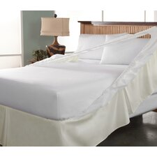 Tailor Fit Easy On Easy Off Bedskirt and Box Spring Protector (Set of 2)