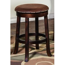 "Santa Fe 24"" Swivel Bar Stool with Cushion"