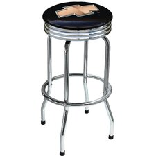 "Chevrolet 30.5"" Swivel Bar Stool with Cushion"