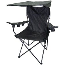 Outdoor King Pin Folding Chair in Black