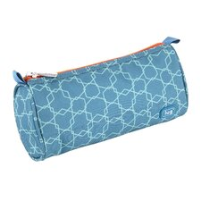 Scribble Pencil Case in Aqua