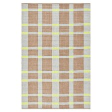 Thom Filicia Saddle Lawn Green/Brown Indoor/Outdoor Rug