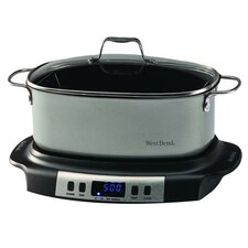 6 Quart Programmable Slow Cooker