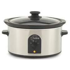 4 Quart Oval-Shaped Crockery Cooker