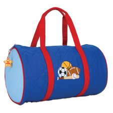 "Sports Quilted 15"" Kids Duffel"
