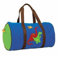 "Dinosaur Quilted 15"" Kids Duffel"