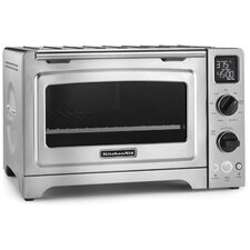 1 Cubic Foot Stainless Steel Convection Countertop Oven