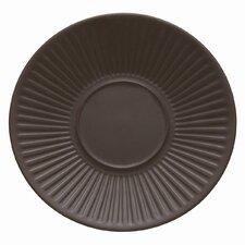 "Flamestone Brown 6.5"" Saucer (Set of 4)"