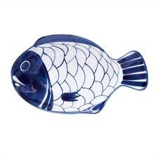 "Arabesque 11.75"" Small Fish Platter (Set of 2)"