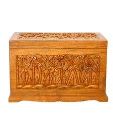 "Handmade 23"" Tropical Palm Tree Design WoodCoffee Table"