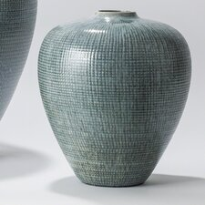 Check Bulbous Vase