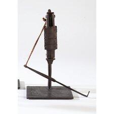 Choras Antique Lock on Stand Sculpture