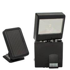 Solar-Powered LED Security Spotlight