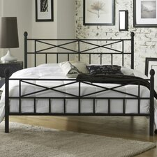 Emma Metal Panel Bed