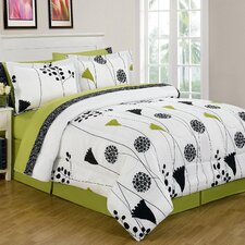 Spring Melody 8 Piece Bed in a Bag Set