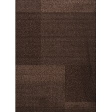 Estella Texture Brown Area Rug