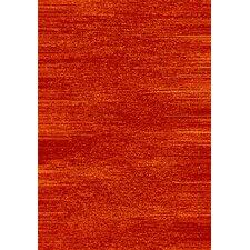 Estella Woodgrain Rust Area Rug