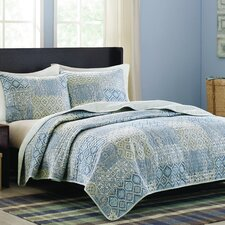 Mayfair 3 Piece Quilt Set