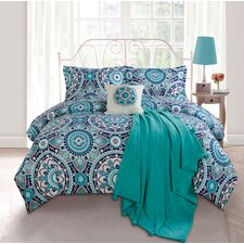 Emblem Twin XL 5 Piece Comforter Set