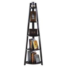 "Adam 5-Tier A-Frame 58"" Bookcase"
