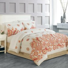 Global Paisley 8 Piece Bed in a Bag Set