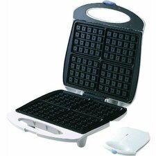 4 Section Cool Touch Belgian Waffle Maker