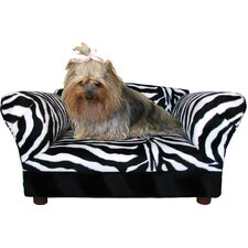 Mini Dog Sofa Bed with Wooden Legs