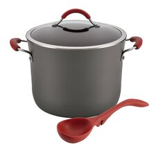 Cucina Hard-Anodized 3 Piece Soup Nonstick Cookware Set