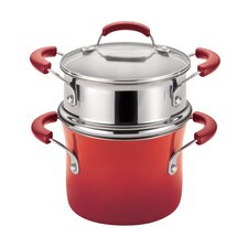 Porcelain Nonstick 3 Qt. Covered Multi-Pot