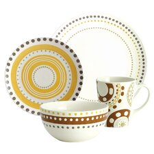 Circles and Dots Dinnerware Collection