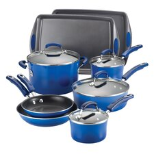 Porcelain Nonstick 12 Piece Cookware Set
