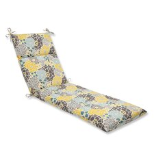 Full Bloom Outdoor Chaise Lounge Cushion