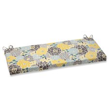 Full Bloom Outdoor Bench Cushion