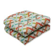 Parallel Play Outdoor Seat Cushion (Set of 2)