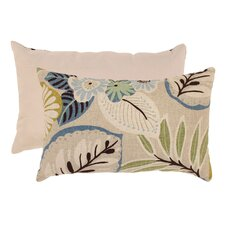 Tropical Cotton Lumbar Pillow